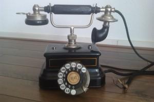Hele oude telefoon